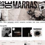 Diseño y desarrollo web de la página de Los de Marras
