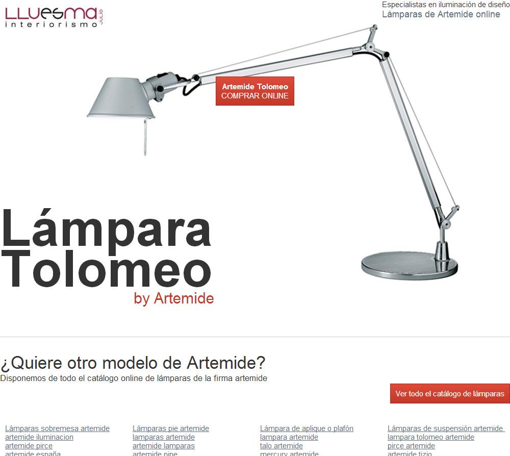 Artemide landing Valencia Lamparas Diseño de para page 2WEDH9YI