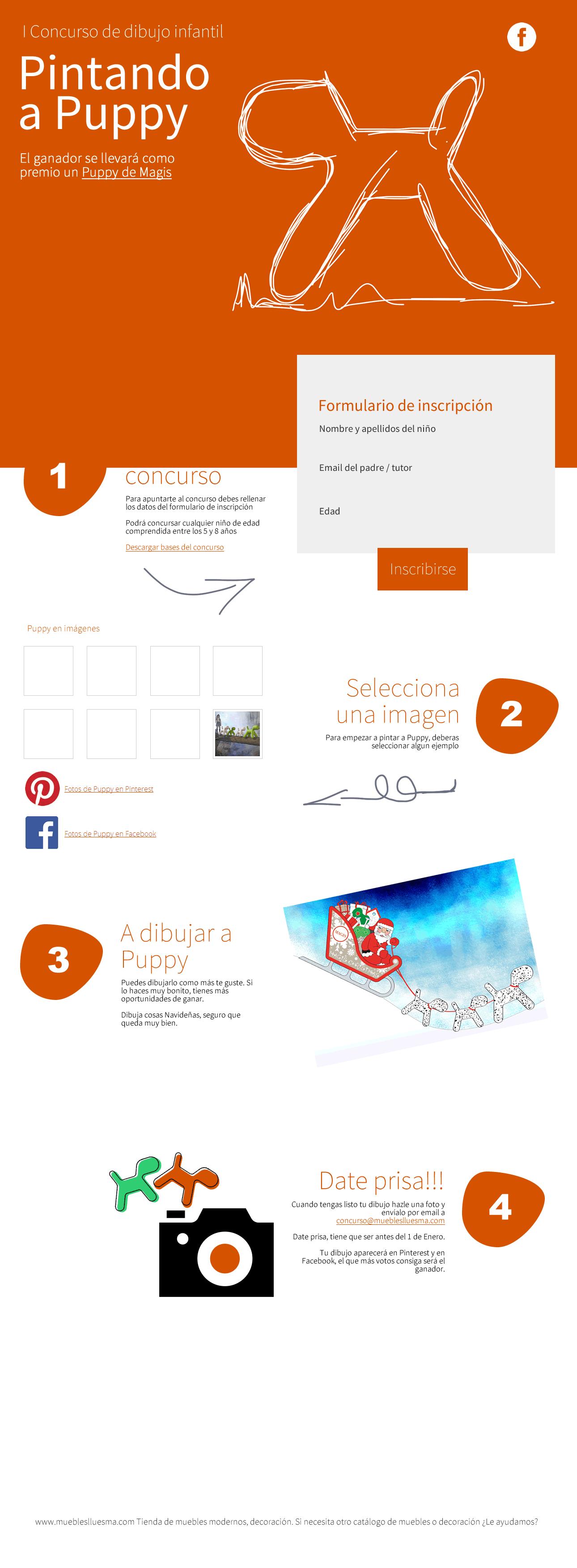 Diseño de landing page captación
