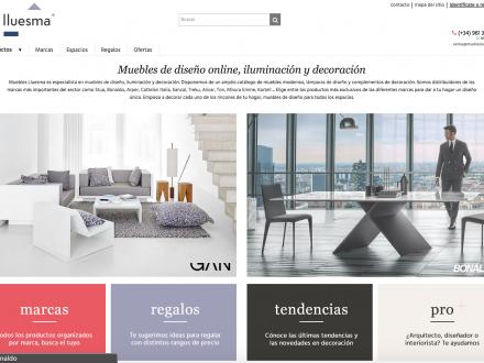 Diseño de tienda online venta de muebles
