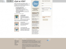 Diseño de página web de producto en web corporativa