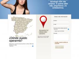 Localización de asociados de la página web