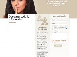 Diseño de formulario de contacto en página web