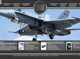 Página web para empresa de aviación Madrid