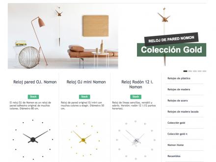 Tienda online Relojes Nomon