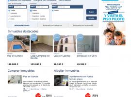Diseño de web a medida GFA Grupo Ferrer Albors
