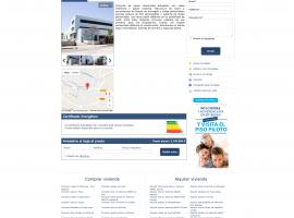 Diseño de ficha del inmueble página web inmobiliaria online