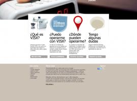 Diseño página web adios a las gafas
