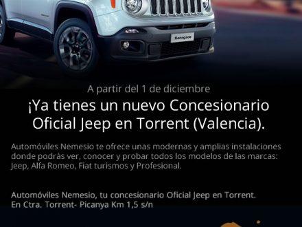 Diseño de newsletter para Jeep