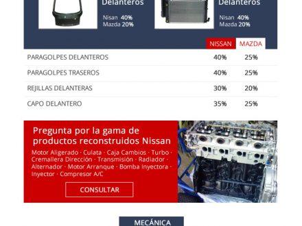 Diseño de newsletter para Nissan