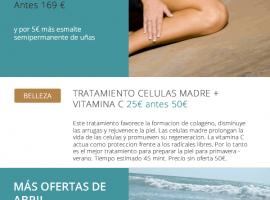 Diseño mailing para clínica estética Valencia