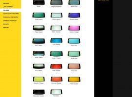 Diseño de página web de catálogo de productos
