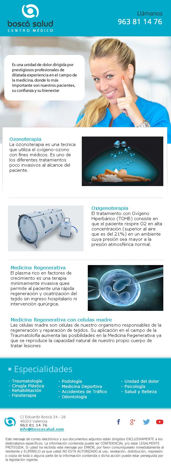 Diseño de newsletter para Salud