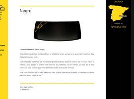 Diseño de la ficha de producto de la página web