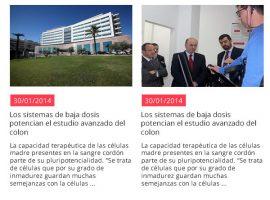 Diseño de newsletter para Hospitales Nisa
