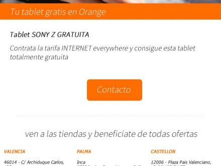 Diseño de newsletter para Orange Valencia