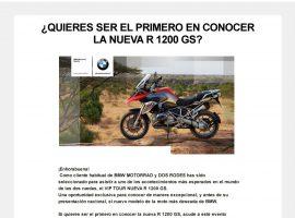 Diseño de newsletter para BMW – DosRodes