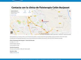 Diseño web página de contacto