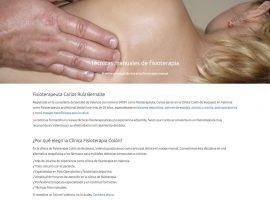 Diseño web página inicial