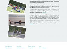 Página web contenido maquetado