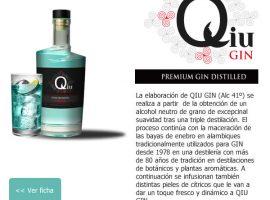 Diseño de newsletter para Bebidas alcoholicas