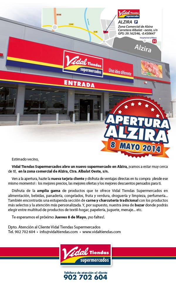 Diseño de newsletter para Tiendas Vidal