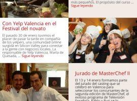 Diseño de email masivo para Valencia CC