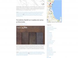 Diseño de blog página filtrada por categoría