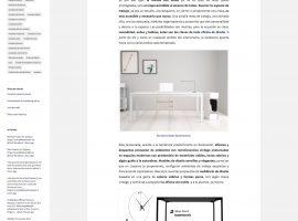 Diseño de pagina web blog artículo con fotos