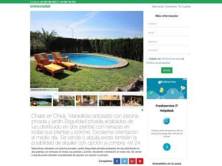 Ficha de inmueble portada de la web
