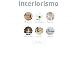 Página web de servicios y productos