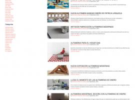 Sección del blog filtrada por categoria de alfombras