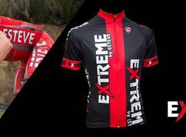 Diseño de banner de ropa de ciclismo