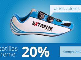 Diseño de banner para zapatilla de ciclismo