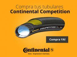 Diseño de banner para cubiertas de ciclismo Continental