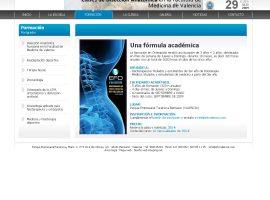 Programación sección en página web