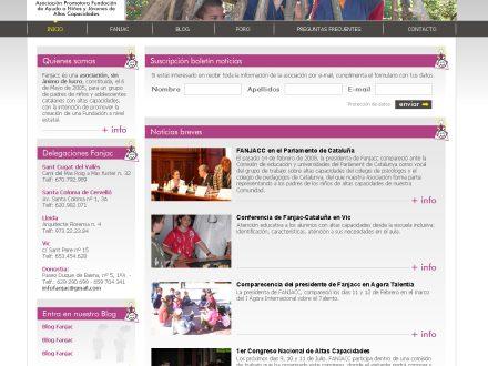 Programación de la página web