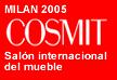 Diseño de banner promoción de la feria del mueble de Milan 2005