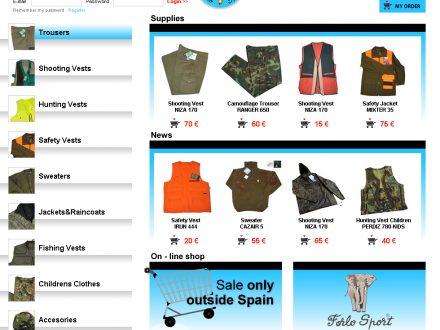 Programación web de catálogo de productos
