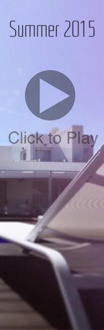Diseño de banner para promoción del video de Muebles Lluesma Campaña verano 2015