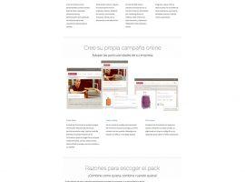 Diseño web sección página web Mandoo