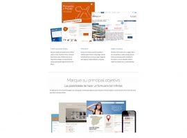 Diseño web página de formularios online