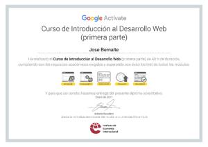 Google IEI Curso Introduccion Al Desarrollo Web
