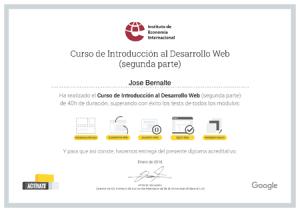 Certificado Desarrollo Web IEI Parte 2