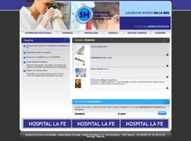 Programación Página Web Servicio Hematología Hospital La Fe Valencia