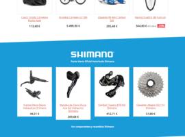 Diseño Web Tienda Online Ciclismo bicyLovers