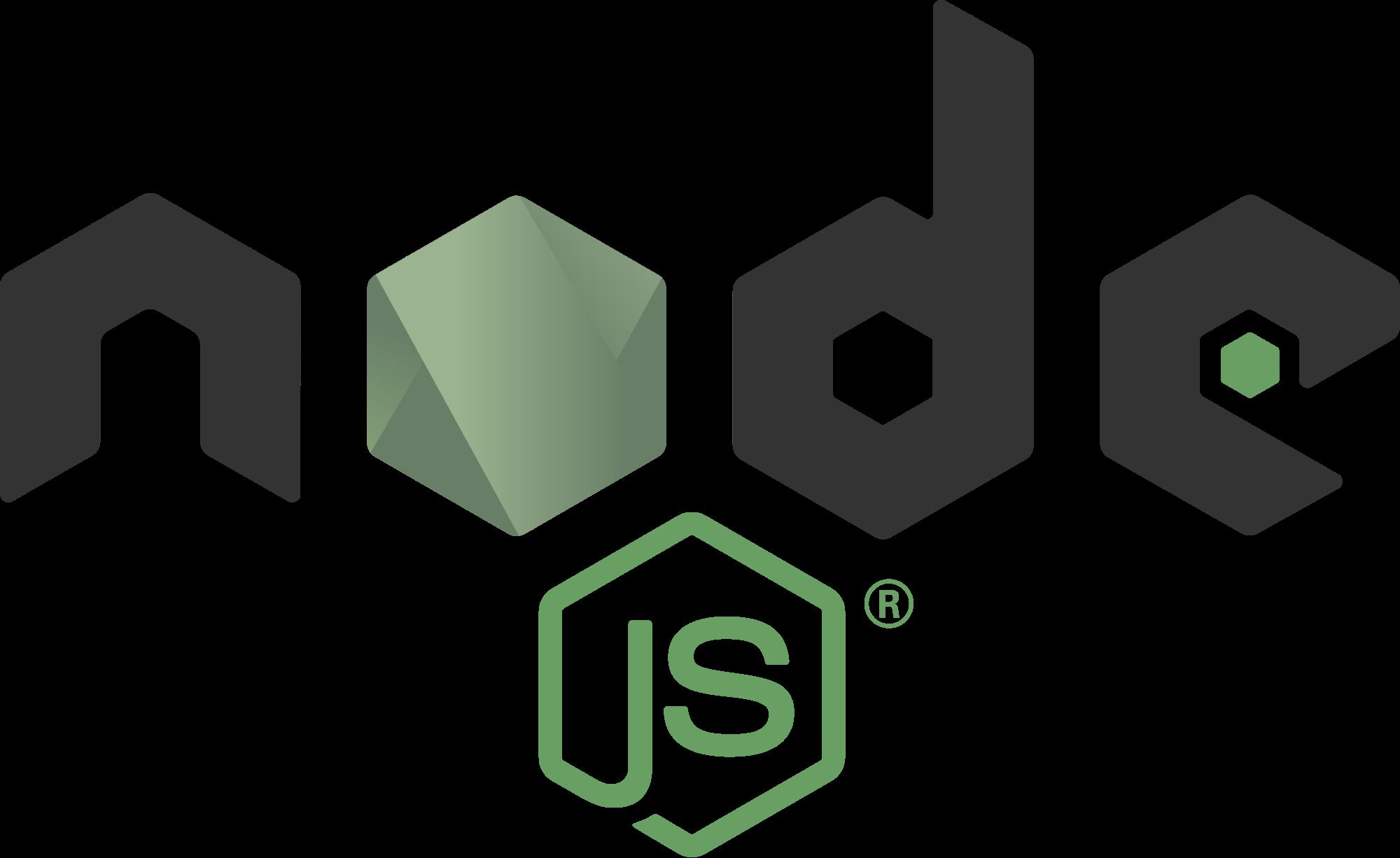 Logo de NodeJS Lenguaje de Programación