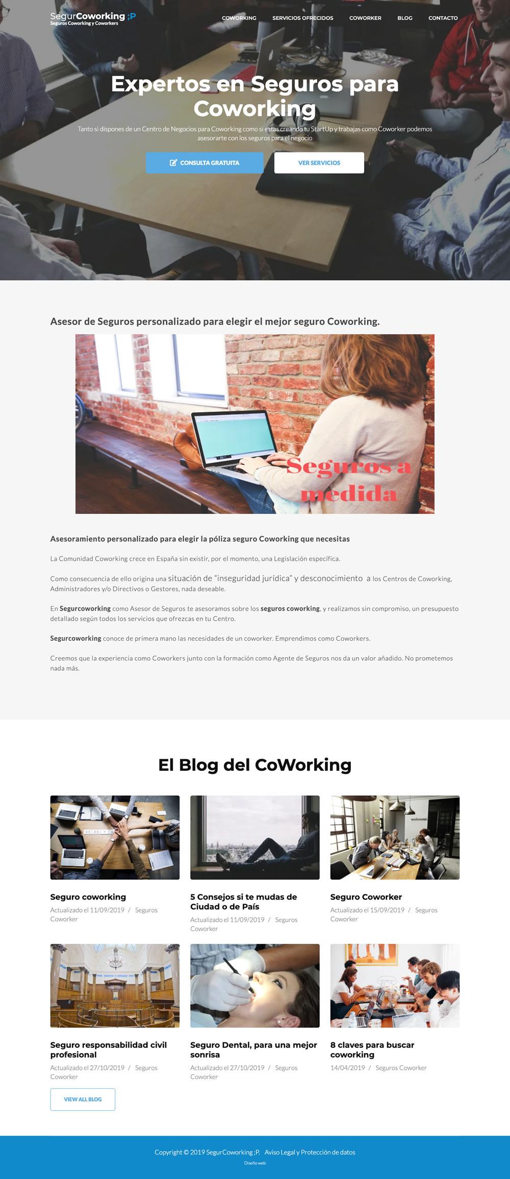 Diseño Página Web Home