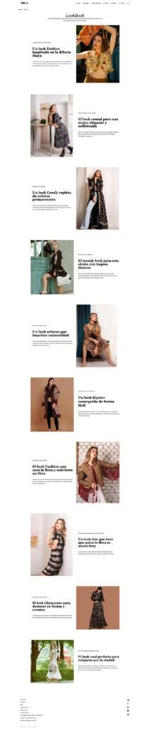 Sección Lookbook en la Tienda Online de Moda ibban